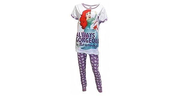2a1cb5c8 Intimates & Sleep Disney The Little Mermaid Ariel Ladies 2-Piece Pajama Set Women's  Clothing