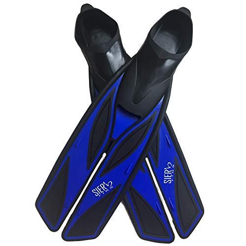 Split Snorkel Fins, Full Foot Diving Fins and Scuba Flippers Fins, Includes Mesh...