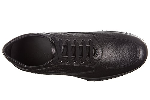 Hogan zapatos zapatillas de deporte hombres en piel nuevo interactive h rilievo