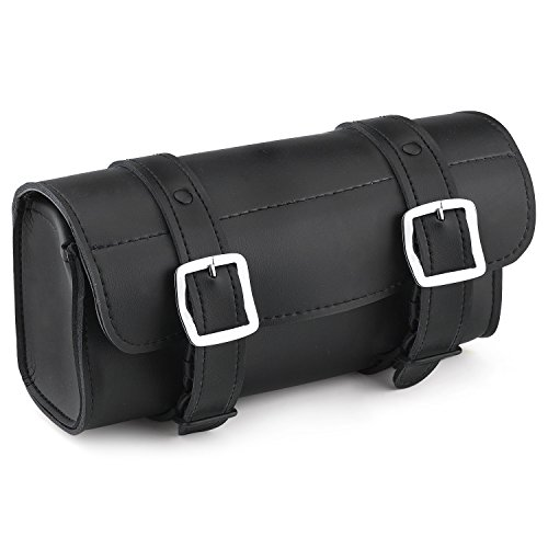 Viking Bags Armor Leather Motorcycle Tool Bag (Plain)