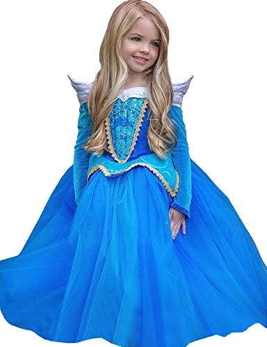 Ninimour-Prinzessin-Kleid-Grimms-Mrchen-Kostm-Cosplay-Mdchen-Halloween-Kostm