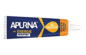 Apurna Apurna Gel Energie Rapide 27g - Parfum orange/acerola - Vendu à l'unité Nutrition Sportive - Soin