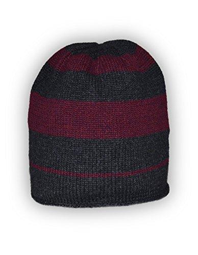 Jacquard Knit Caps - 3
