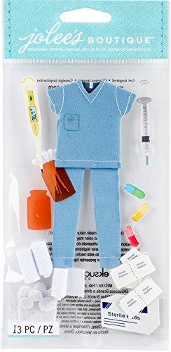 Jolee's Boutique Dimensional Stickers, Nurse