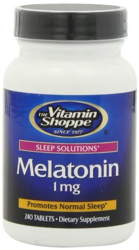 Amazon.com: The Vitamin Shoppe Melatonin (1 MG) by Vitamin Shoppe ...