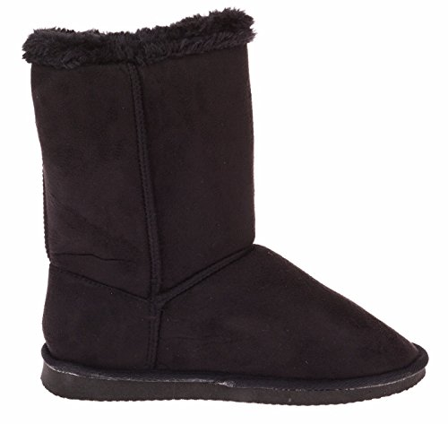 Chatties Ladies 10 Inch Winter Boot With Toggle Black 4Y8Zlu7Ece