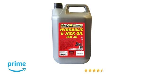 Silverhook shrh4 ISO Aceite Hidráulico 32, 4,54 litros: Amazon.es: Coche y moto