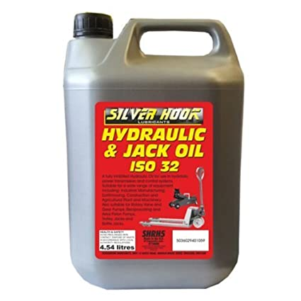 Silverhook shrh4 ISO Aceite Hidráulico 32, 4,54 litros: Amazon.es ...