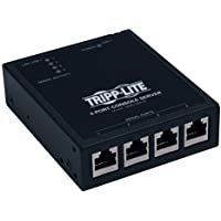 TRIPP LITE 4-Port IP Serial Console / Terminal Server TAA GSA (B095-004-1E)