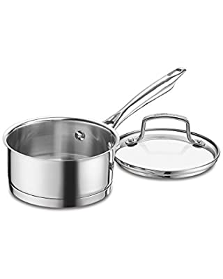 Cuisinart Professional Series 1Qt Covered Saucepan