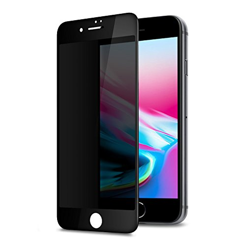 Thanksgiving Glass (GLASS-M Privacy Screen Protector for iPhone 8, iPhone 7, 180 Degree Anti-spy, Edge to Edge Full Cover Tempered Glass Screen Protector - Black)