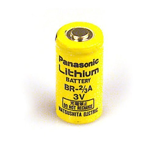 PANASONIC Batteries BR-2/3ASSP Lithium Battery, 3V, 2/3A