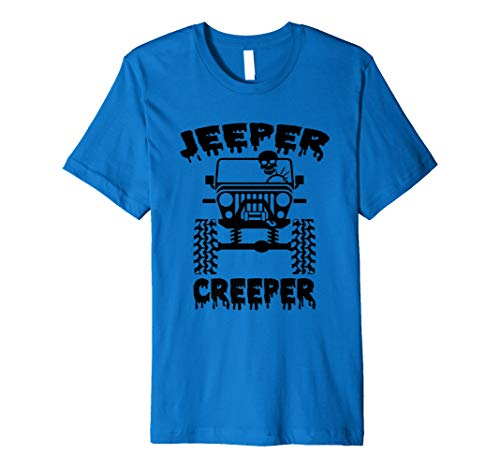 Jeeper Creeper Skeleton Jeeps Wave Premium T-Shirt]()