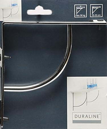 2 unit/à Duraline Miniswing Squadra per Scaffali Cromo