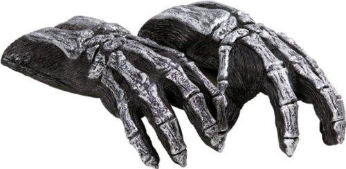 Dead City Choppers Skeleton Gloves (B606)