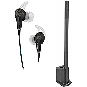 Bose L1 Compact Portable Line Array System & QuietComfort 20 Noise Cancelling Headphones for iOs Black