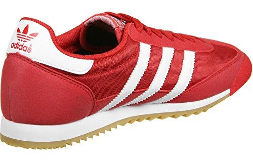 adidas Dragon Og, Zapatillas para Hombre rojo blanco