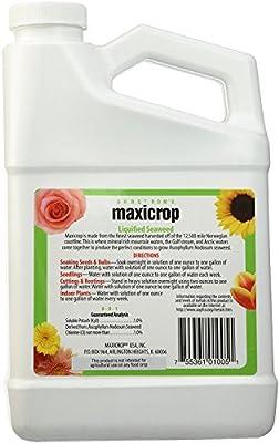 Maxicrop Liquid Seaweed (Kelp Extract, 32 Oz