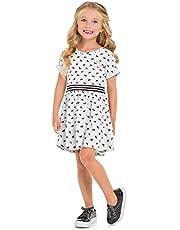 Vestido Infantil para Meninas, Milon