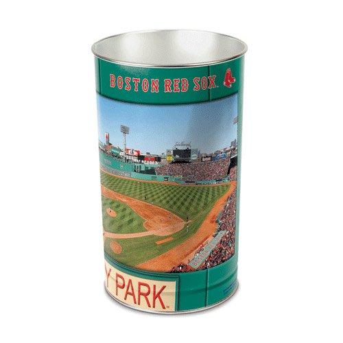 Wincraft MLB Boston Red Sox Tapered Wastebasket, 15''