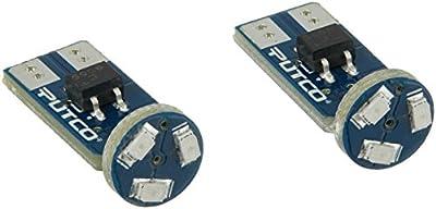 Putco 280003B Type T Blue LED Stick Bulb - Pair