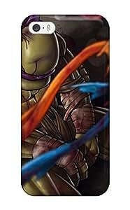 Queenie Shane Bright's Shop Slim Fit Tpu Protector Shock Absorbent Bumper Teenage Mutant Ninja Turtles 29 Case For Iphone 5/5s