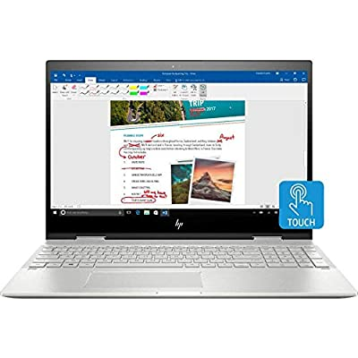 "2019 HP Envy x360 Premium Laptop Computer 15.6"" FHD 2 in 1 Touchscreen Intel Core i7-8550U Processor 8GB/16GB RAM 128GB/512GB/1TB SSD 1TB/2TB HDD B&O Audio Backlit-Keyboard Windows 10"