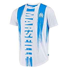 OLYMPIQUE DE MARSEILLE T-Shirt Om - Collection Officielle Taille Enfant Garçon