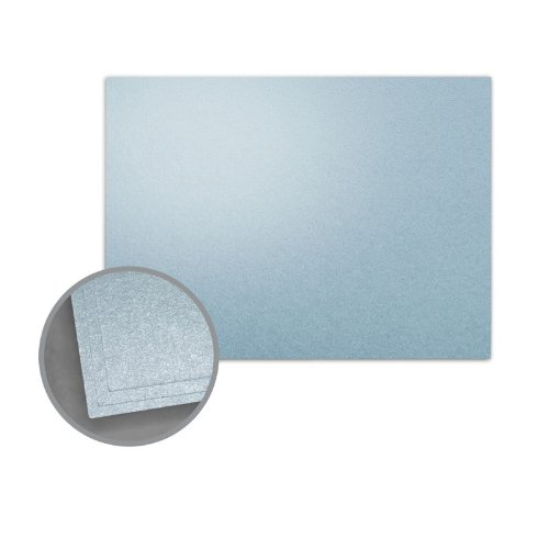 ASPIRE Petallics Juniper Berry Flat Cards - A7 (5 1/8 x 7) 98 lb Cover Metallic C/2S 400 per Carton