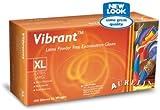 10 boxes of Aurelia® Vibrant™ Latex Powder Free Textured Examination Gloves, small, (100 gloves/box)