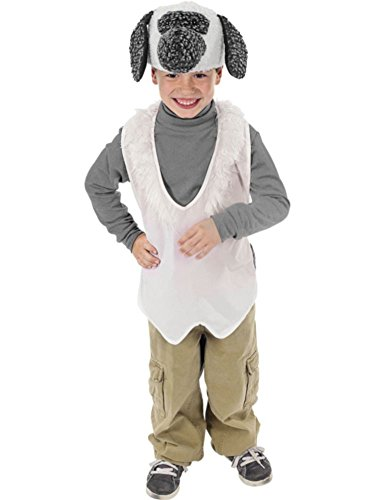 Lamb Plush Costume Vest Hat Nativity (Nativity Animal Costumes)