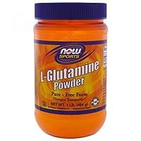 Now Foods L-Glutamine Powder, 454g
