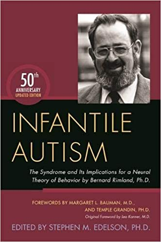 Autism Expert Dr Margaret L Bauman To >> Infantile Autism The Syndrome And Its Implications For A Neural