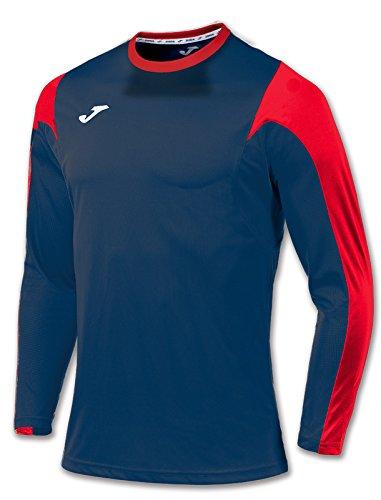 JomaメンズEstadio長袖フットボールTシャツ B00ZREFBYO 4-6 Years|ネイビー / レッド ネイビー / レッド 4-6 Years