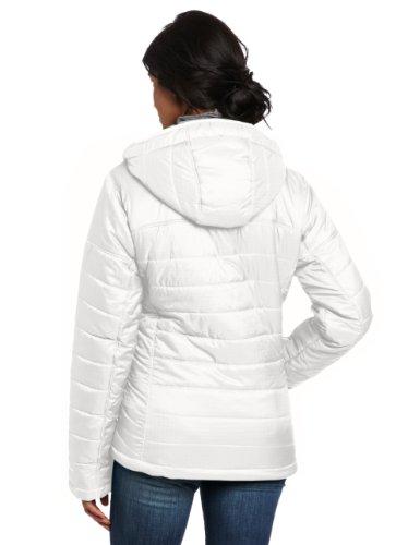Columbia Women 's Shimmer Me Hooded Jacket Sea Salt, color , tamaño XS