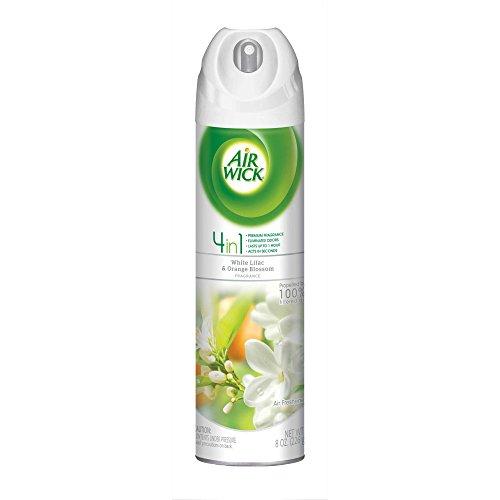 Air Wick Air Freshener Room Spray, White Lilac & Orange Blossom, 96oz - White Spray Blossom