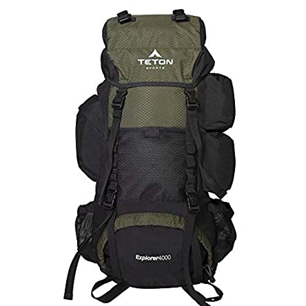 TETON Sports Explorer 4000 Internal Frame Backpack;...