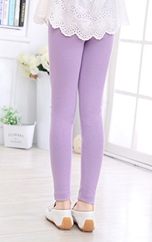 89646508c97a02 IRELIA Girls Leggings 3 Pack Cotton Novel Size 2-10 for Play ...