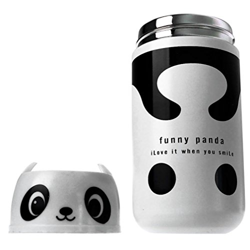 233c21ac935f Amazon.com: Dingji 220ml Cute Panda Them Stainless Steel Vacuum Cup ...