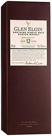 GLEN SCOTIA Glen Elgin 12 Years Old Hand Crafted 43% Vol. 0,7L In Giftbox - 700 ml