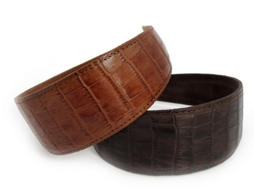 Leather hair band - 5 cm