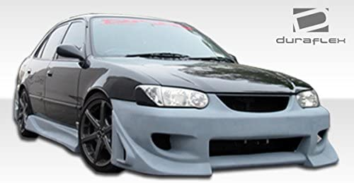 Compatible With Corolla 1993-2002 2 Piece Body Kit Brightt Duraflex ED-UBP-508 Blits Side Skirts Rocker Panels