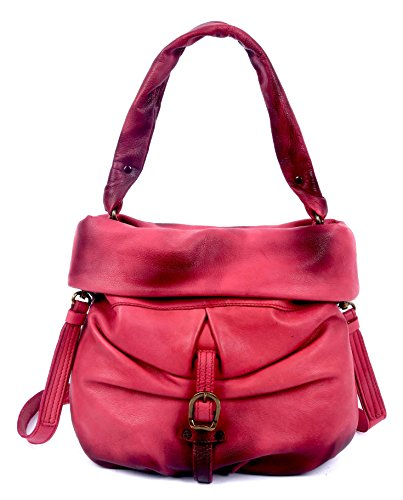 old-trend-lotus-bucket-leather-bag
