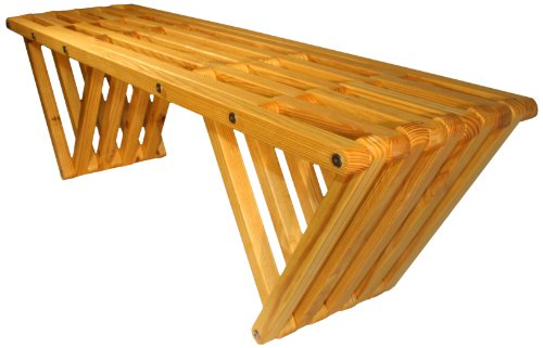 Bench X60, Honey (Backless Entryway Benches)