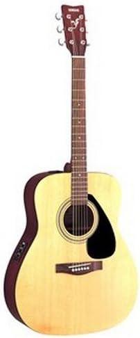Yamaha FX310A - Guitarra acústica con cuerdas metálicas (madera, tipo dreadnought), color natural