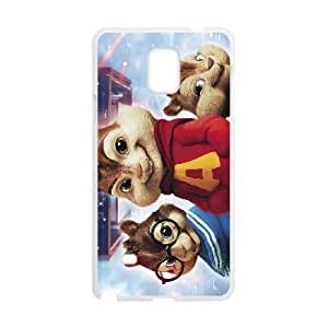 Alvin and the Chipmunks Samsung Galaxy Note 4 Cell Phone Case White RWI