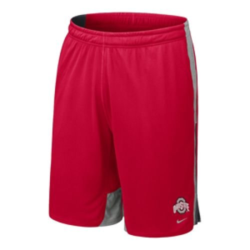 - NIKE Ohio State Buckeyes Zoom Fly Training Performance Shorts - Men - S