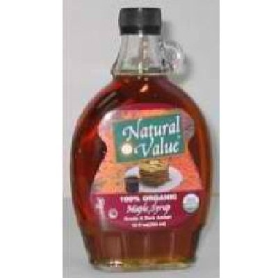 Natural Value B Maple, 12-Ounce (Pack of 12) by Natural Value