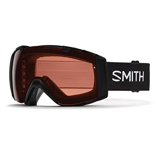 Smith Optics I/O Adult Snowmobile Goggles Black / Polarized Rose Copper by Smith Optics
