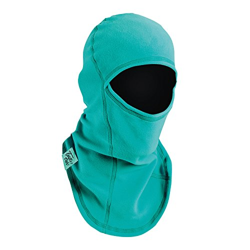(Turtle Fur Kids Micro Fur Fleece Ninja Midweight Balaclava Black)